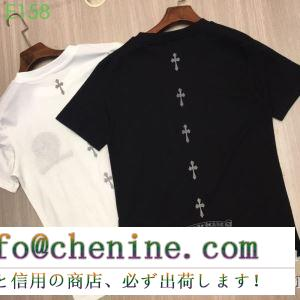 2019年SSトレンド新品登場 クロムハーツ chrome hearts 半袖tシャツ 2色可選 男女兼用 夏の定番スタイルをアップ