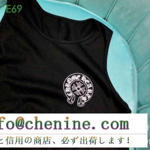 大人っぽい雰囲気に クロムハーツ chrome hearts 半袖tシャツ 2色可選 男女兼用 2019春夏注目のブランドおすすめ