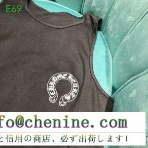 男女兼用 2色可選 2019春夏の流行をチェック この夏最高に人気ブランド クロムハーツ chrome hearts 半袖tシャツ