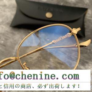 高感度なセレブたち愛用 2019春夏オシャレに注目 クロムハーツ chrome hearts 眼鏡 3色可選