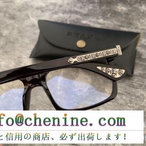春夏ファショントレンドアイテム クロムハーツ chrome hearts 眼鏡 多色可選 2019人気がますます人気