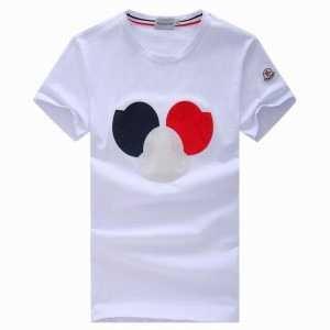 国内発送 MONCLER モンクレール 胸にトリコロール アップリケ クルーネックTシャツ 29374561