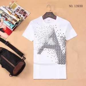 抜群の雰囲気が作れる! 2017 半袖Tシャツ アルマーニ ARMANI 4色可選
