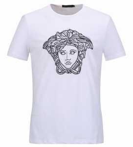 2色可選 ヴェルサーチ VERSACE 半袖Tシャツ 2017春夏 魅力ファッション