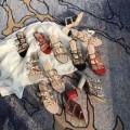 大人キレイに仕立てるVALENTINOヴァレンティノコピーのレザーのレディースサンダル新作アイテム