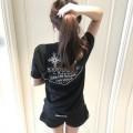 ベーシックスタイルのCHROME HEARTSクロムハーツコピーの男女兼用のクルーネック半袖Tシャツファッション通販品