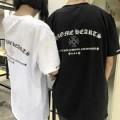 2018赤字超特価高品質CHROME HEARTSスーパーコピークロムハーツの吸汗性と速乾性に優れたクルーネック半袖Tシャツ