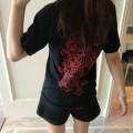 ヴィンテージ感漂う着心地のCHROME HEARTSクロムハーツTシャツコピーの男女兼用のクルーネック半袖Tシャツ