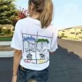 洗練された印象のCHROME HEARTSクロムハーツコピー通販のホワイトクルーネック半袖Tシャツファッション品