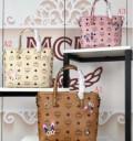 【MCM】エムシーエムコピーMINI SHOPPERS良好な材質ショルダー付きレディースハンドバッグ3色