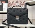 高級素材を採用18SS【MCM】Patriciaエムシーエムコピーレザー調ロゴレディースショルダーバッグ